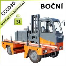 Vysokozdvižný vozík CCCD30 boční venkovní