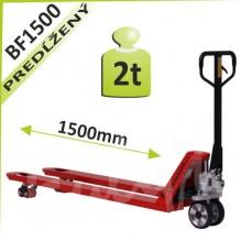 Paletový vozík BF1500