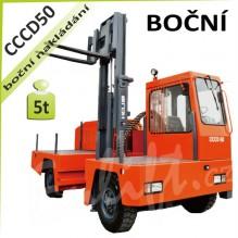 Vysokozdvižný vozík CCCD50 boční venkovní