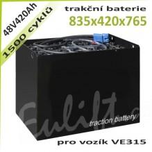 Trakční Baterie 48V420AhVE315