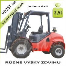 Vysokozdvižný vozík VD25T