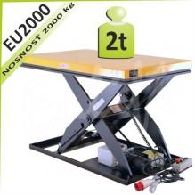 Zdvíhacia plošina EU2000