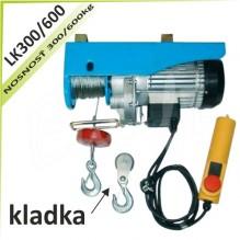 Kladkostroj lanový LK300/600