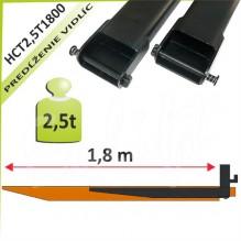 Predĺženie vidlíc HCT2,5T1800
