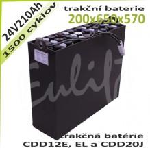 Trakčné batérie 24V / 210Ah