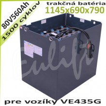 Trakčné batérie 80V / 560Ah