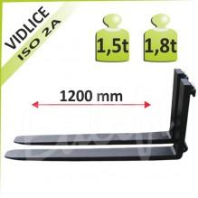 Nosná vidlica 1,5-1,8t a 1200mm