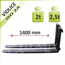 Nosná vidlica 2-2,5t a 1600mm