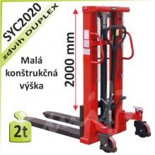 Vysokozdvižný vozík SYC2020