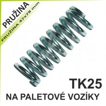 Pružina hydrauliky na paletové vozíky TK2500
