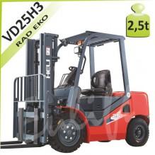 Vysokozdvižný vozík H-VD25 diesel