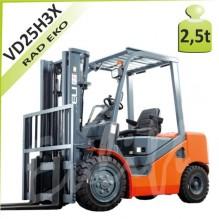 Vysokozdvižný vozík VD25H3X diesel