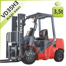 Vysokozdvižný vozík H-VD35 diesel