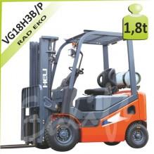 Vysokozdvižný vozík VG18 H3 LPG/BENZÍN