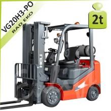 Vysokozdvižný vozík VG20H3 plné obruče