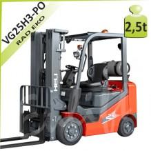 Vysokozdvižný vozík VG25H3 plné obruče