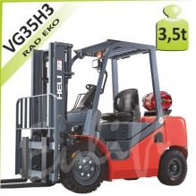 Vysokozdvižný vozík VG35 H3 LPG