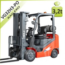 Vysokozdvižný vozík VG32 H3 plné obruče LPG