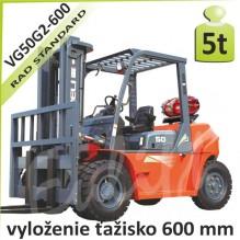 Vysokozdvižný vozík G-VG50 LPG