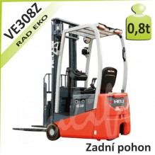 Akumulátorový vozík VE308Z so zadným pohonom