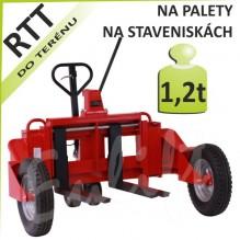 Terénní paletový vozík RTT